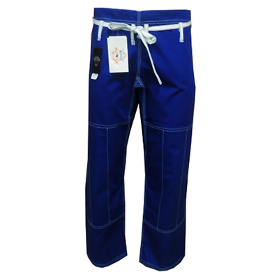 dragon fightwear BJJ comp pants - blue