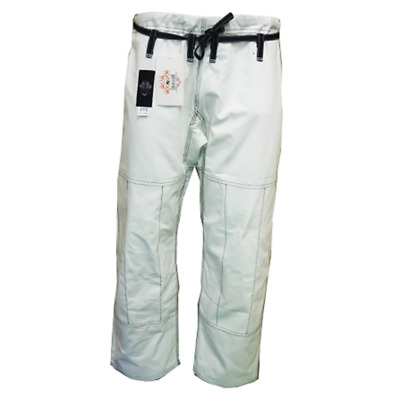 dragon fightwear BJJ comp pants - white