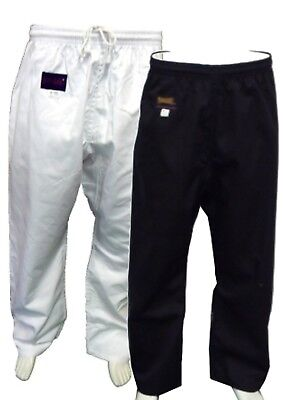 junior black pants 10oz p/c