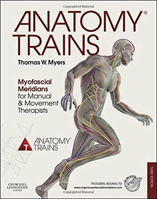 Myers ANATOMY TRAINS MYOFASCIAL MERIDIANS FOR MANUAL AND MOVEMENT THERAPISTS 3RD