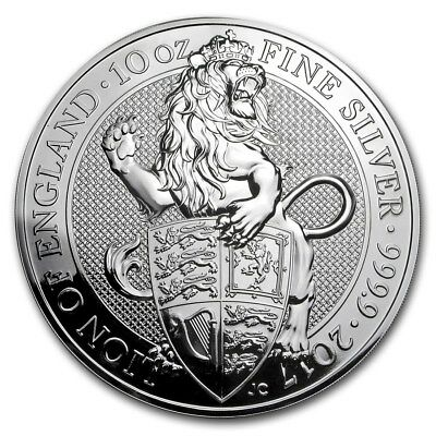 THE QUEEN'S BEASTS 2 OZ SILVER COINS (Releases 1,2,3,4) (8 total oz .999 Silver)