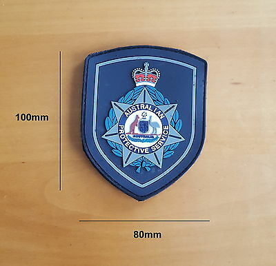 Australian Protective Service Rubber Style Patch (social)