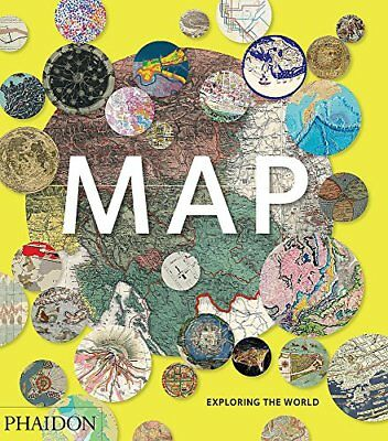 Libro Phaidon Press Ltd MAP EXPLORING THE WORLD Copertina rigida 0714869449