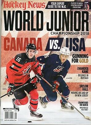 2017 Hockey News World Junior Championship Team Canada Mittelstadt / Raddysh