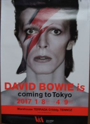 DAVID BOWIE IS Japanese B2 poster (20in x 29in)