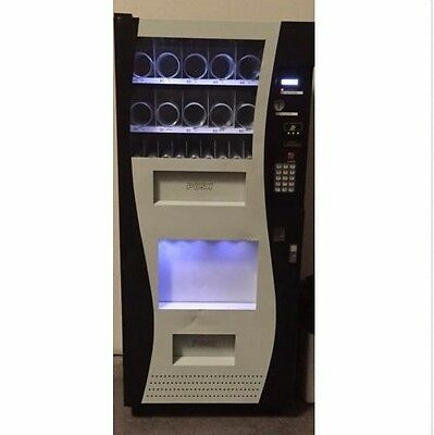 [Pick Up ONLY] Genesis Vending Machine Office Deli/Snack/Soda Combo-Hollywood,FL