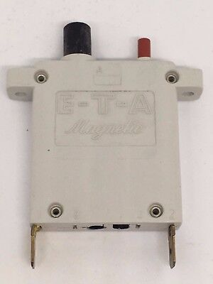 Free Shipping E-T-A Magnetic #43-500-P10-6A Circuit Breaker 6 Amps NEW!!