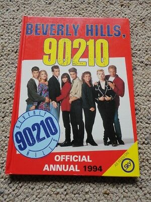 Beverly Hills 90210 Official Annual 1994 HC - Excellent Condition - RARE!