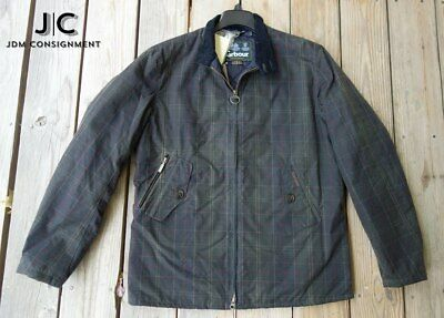 NEW Barbour Helmsdale waxed jacket Medium in Classic Tartan