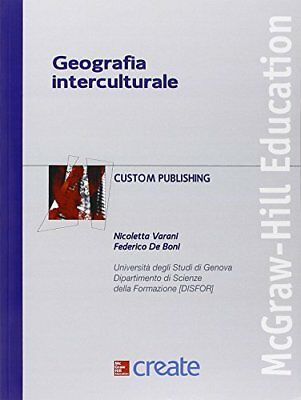 Libro GEOGRAFIA INTERCULTURALE Copertina flessibile McGraw-Hill Education Nuovo