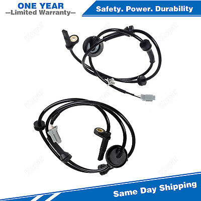 2PCS Front Left & Right ABS Wheel Speed Sensor For 2006-2009 Nissan Quest 3.5L