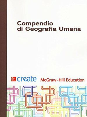 Libro COMPENDIO DI GEOGRAFIA UMANA Copertina flessibile McGraw-Hill Education