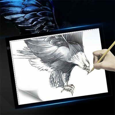 A3 LED Tracing Zeichnung Board Pad Art Tattoo Tisch Schablone Licht Box    BU