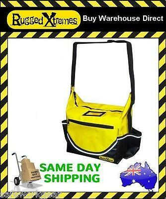 Rugged Xtremes Yellow PVC Insulated Crib Lunch Bag waterproof Yellow Extreme