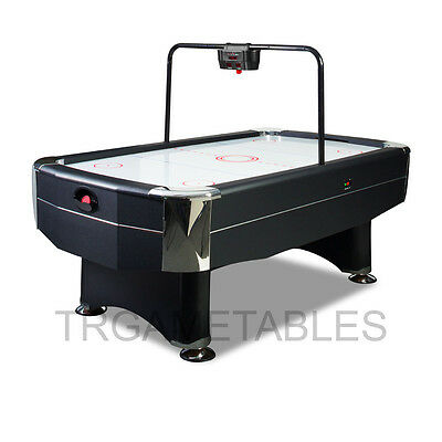7FT Modern Design Quality Air Hockey Table with E-Scorer Blowing Fan System AU