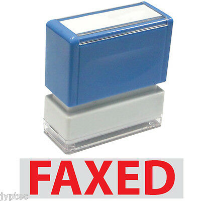 """JYP PA1040 Pre-Inked Rubber Stamp With """"Faxed"""""""