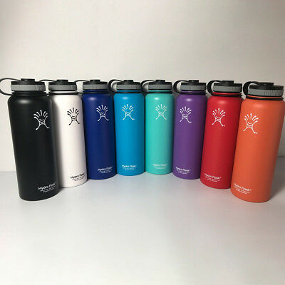 40oz 32 18oz Hydro Flask Vacuum Insulated Stainless Water Bottle Wide Mouth Gift