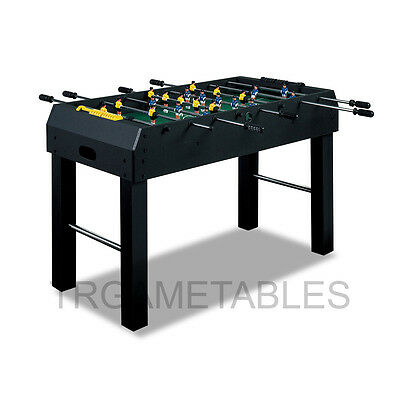 4FT Soccer Foosball Table with 2 Soccer Balls for Kids Game Room AU Storage