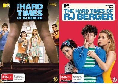 The Hard Times Of RJ Berger : Season 1 and 2 - Region 4