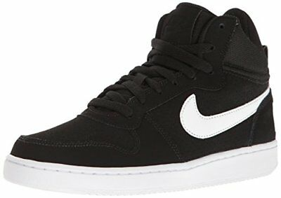 TG. 375 EU Nike Wmns Court Borough Mid Scarpe da Basket Donna Nero V3Z