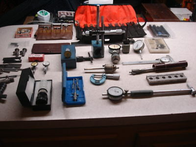 Lot Of Machinist Metal Working Items