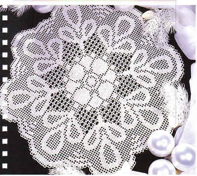 Contemporary Heirloom Lace Crochet Pattern Pictures Sewing Ideas