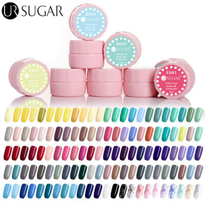 UR SUGAR 5ml Nail UV Gel Polish Soak Off UV & LED Gel Nail Polish Solid Color