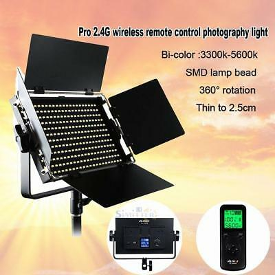 LED 50W 4500LM Video Photography Studio Light Panel Remote Control Dimmable Lamp