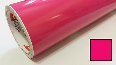 "Gloss Pink Vinyl 48""x30' Roll Sign Making Decal Supplies Craft Decoration Hobby"