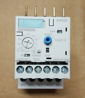 Siemens Overload Relay 3RB2016-1NB0 Brand New in Box