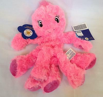 NWT Build A Bear unstuffed plush Under the Sea pink Oodles Octopus no shell 2012