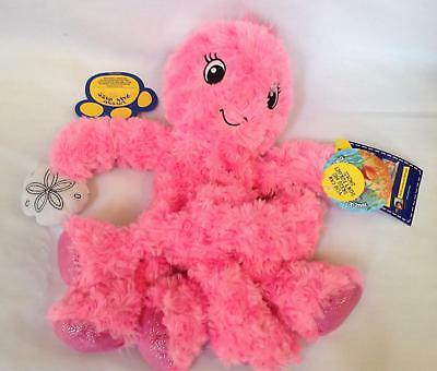 NWT Build A Bear unstuffed plush Under the Sea pink Oodles Octopus seashell 2012