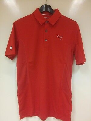 Puma Herren Golf Tech Polo Shirt Cresting 568242-12