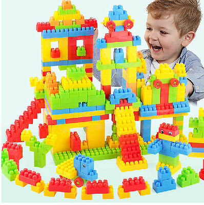 144x Colorful Building Block Children Puzzle juguete educativo