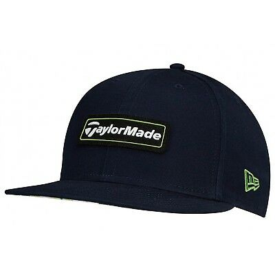 TaylorMade Golf Cap - TM New Era 9Fifty Lifestyle Adjustable Cap -Navy and Green