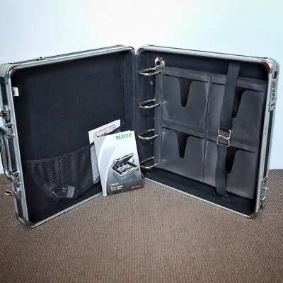 Leitz Vaultz Media Binder 128 CD Hard Case