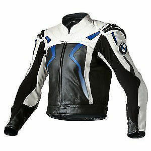 Bmw Racing Fast  Motorbike Leather Jacket Full Protected
