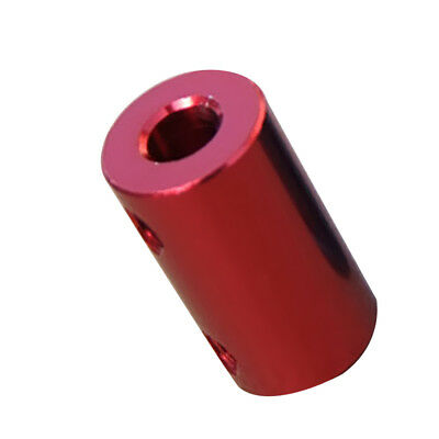 3.17-5mm Flexible Shaft Coupling Coupler Motor Connector Red Aluminum