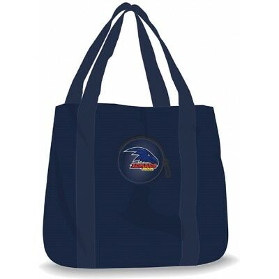 Adelaide Crows Official AFL Foldaway Shopping Tote Bag FREE POST