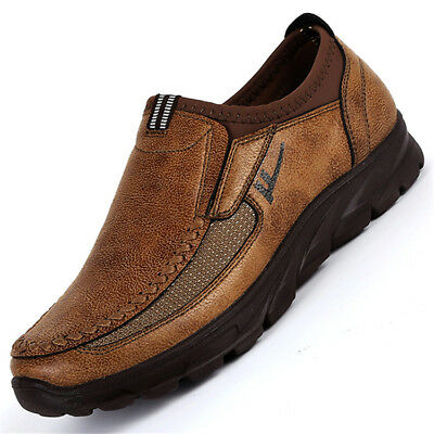 Fashion Men's Winter Comfort Suede Casual Shoes Breathable Anti-skid Big Size