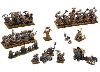 Age of Sigmar / Warhammer Battle For Skull Pass Dwarf Army NEW ON SPRUE!