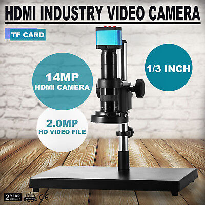 14MP HD USB Industry Digital Microscope Camera Video DVR with C-Mount