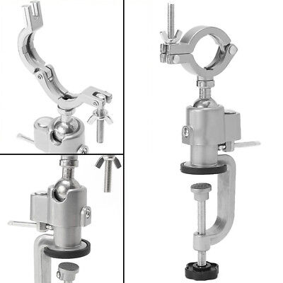 360° Clamp-on Grinder Holder Bench Vise Vice Electric Drill Stand Rotating Tools