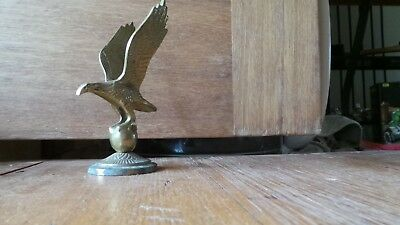 Vintage Brass Eagle Statue Collectable