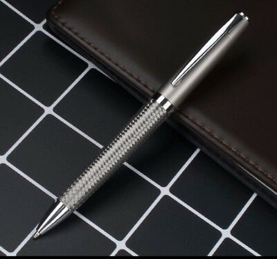 PARKER/CROSS STYLE STAINLESS STEEL  BALLPOINT PEN (Twist)