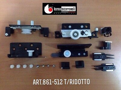 Guarnitura per anta scorrevole Interna art. 861-512 Terno tipo Ridotto
