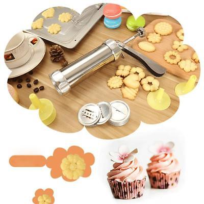Baking Pastry Cookie Mold Tools Press Gun Biscuit Cookie Cutter Making Supply