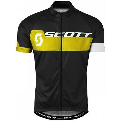 Maillot Scott Shirt Endurance Plus Black Yellow