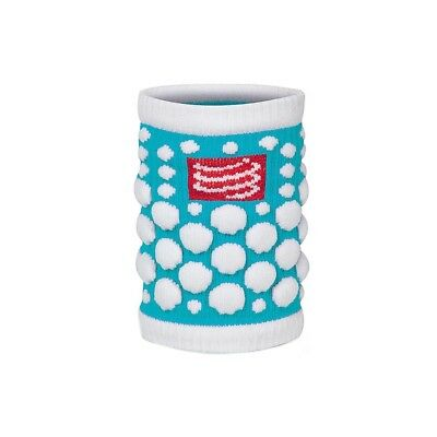 Serre-poignets Compressport Sweat Band Dots Blue