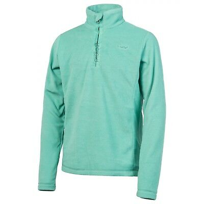 Polaire Protest Mutey Jr 1/4 Zip Cold Jade